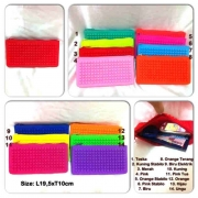 DJ-L4-Dompet Jelly sleting grosir@35rb